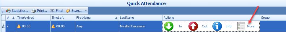 Quick Attendance Main